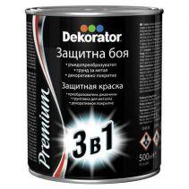 БОЯ DEKORATOR 3 В 1 ЗЕЛЕН МЕТАЛИК 0.5Л/6