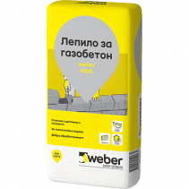 ЛЕПИЛО ЗА ГАЗОБЕТОН WEBER 100G 25КГ