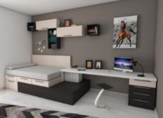 Модулни спални обзавеждания - готовите индивидуални решения