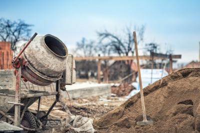 Как се бърка бетон?